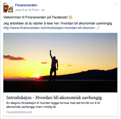 Finansnerden på Facebook