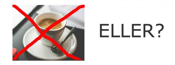 Hvordan jeg sparer mye penger - kaffe